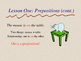 Prepositions PPT