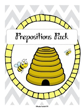 Prepositions Pack