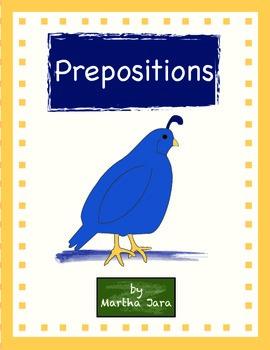 Common Core Prepositions Packet {Kindergarten Edition}
