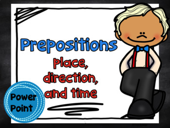 Prepositions Place Direction Time