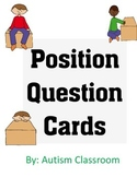 Prepositions: Position Question Cards