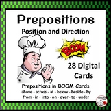 DIGITAL Prepositions: Position and Direction ... Grammar: Boom Learning™ Deck