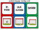 Prepositions - Positional Language Memory Matching Cards -