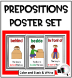 Prepositions ~ Positional Words Posters