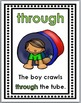Prepositions Posters, Matching Activity, and Printables ~ Positional Words