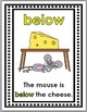 Prepositions Posters, Matching & Printables - Positional Words