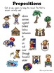 Prepositions - PowerPoint Game Hide and Reveal