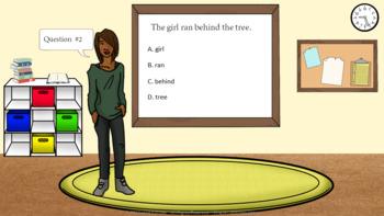 Prepositions Presentation Google Slides Interactive