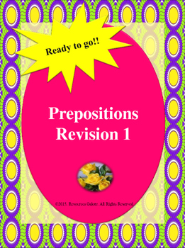 Prepositions: Revision 1