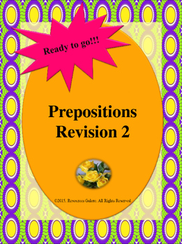 Prepositions Revision 2