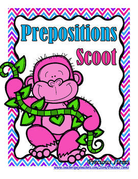 Prepositions - Scoot Game