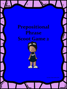 Prepositions Scoot Game Set 2