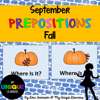 Prepositions- September- Fall