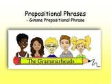 Prepostional Phrase and Prepositions Slideshow - PowerPoint Lesson Plan
