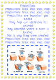 Prepositions Song