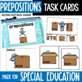 Prepositions Task Card Set