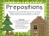 Prepositions Task Cards