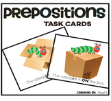 Prepositions: Task Cards