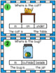 Prepositions! Task Cards, Worksheets, & Writing!