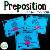 Preposition Activities: Poster & Task Cards with Fun Games