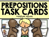 Prepositions Task Cards for Reading Comprehension - Basic