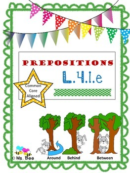 Prepositions: Teach, Practice, & Write