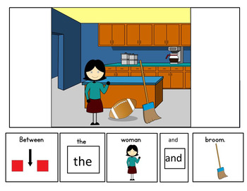 Prepositions: The Between Book for Autism, Speech Therapy & Special Education