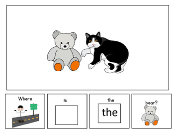 Prepositions: The Next To Book for Autism, Speech Therapy & Special Education