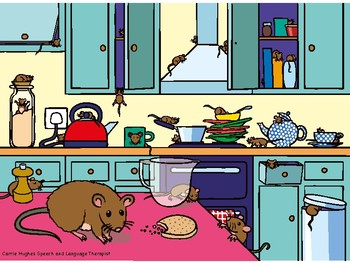 Prepositions - There's a Mouse in the House!!