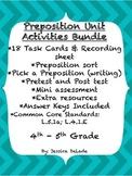 Prepositions Unit Activities Bundle