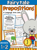 Prepositions and Prepositional Phrases Worksheets and Activities Unit