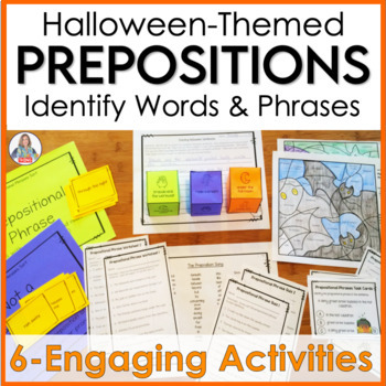 Prepositions Unit With a Halloween Theme