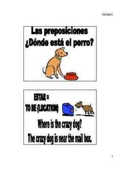 Prepositions Vocabulary, Activities, Crossword, Games, & Quiz Unit