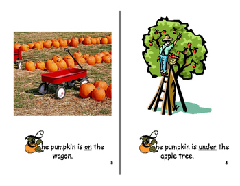 Prepositions- Where is the Pumpkin?