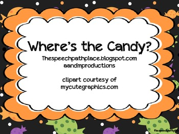 Prepositions: Where's the candy?