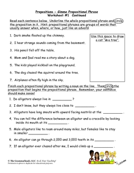 prepositions worksheet pack by the grammarheads teachers pay teachers. Black Bedroom Furniture Sets. Home Design Ideas