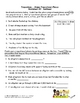 Prepositions Worksheet Packet and Lesson Plan - 8 pages plus answer key
