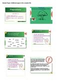 Prepositions Writing Activities