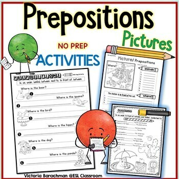 Prepositions -Pictures-