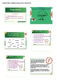 Prepositions Writing Activities