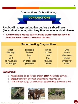 Prepositions and Conjunctions: Warriner's Write it Right 19-21