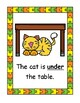 Prepositions and Positional Words Posters and More