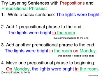 prepositions and prepositional phrases active learning approach