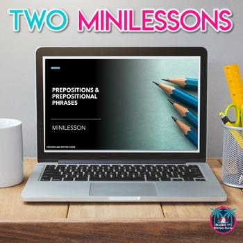 Prepositions and Prepositional Phrases Mini Unit