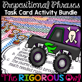 Preposition Task Cards Prepositional Phrases Task Cards