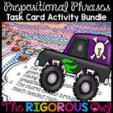 Prepositions Task Cards Prepositional Phrases Task Cards