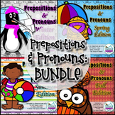 Prepositions and Pronouns {BUNDLED SEASONS}