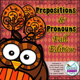 Prepositions and Pronouns {Fall Edition}