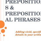 Prepositions and prepositional phrases - skills, hints, an