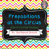 Prepositions at the Circus!
